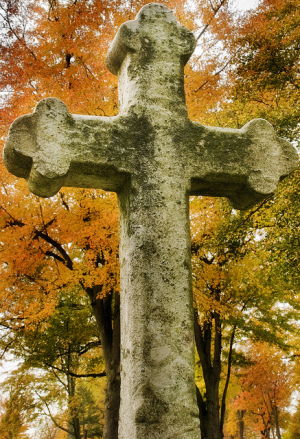Celtic Cross Fall Colors